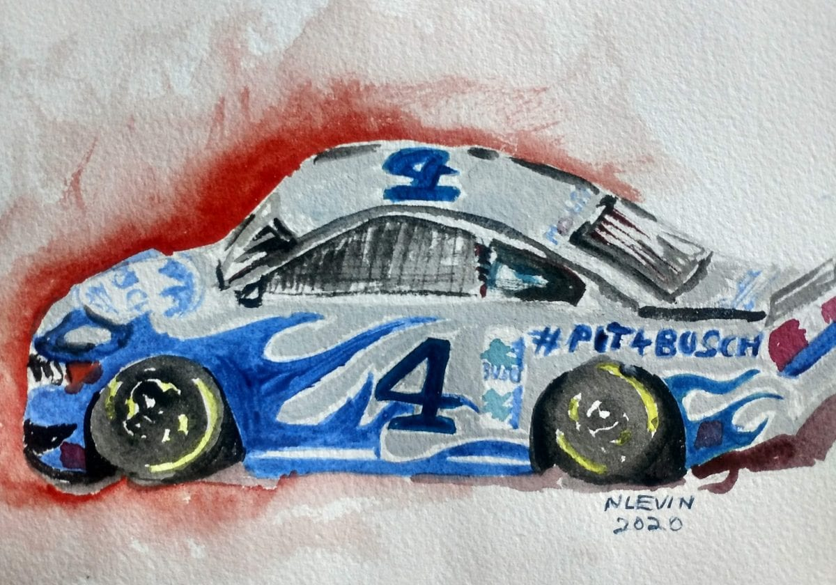 What makes a creative marketing strategy work? Busch is doing it this year with car #4 in the Daytona 500
