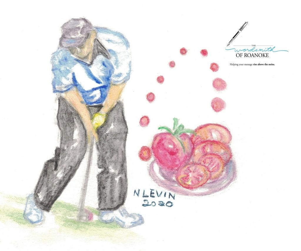 Analogies, metaphors and similes offer great ways to paint a picture. Lee Trevino often compares his golf game to sliced tomatoes in the many metaphors he uses