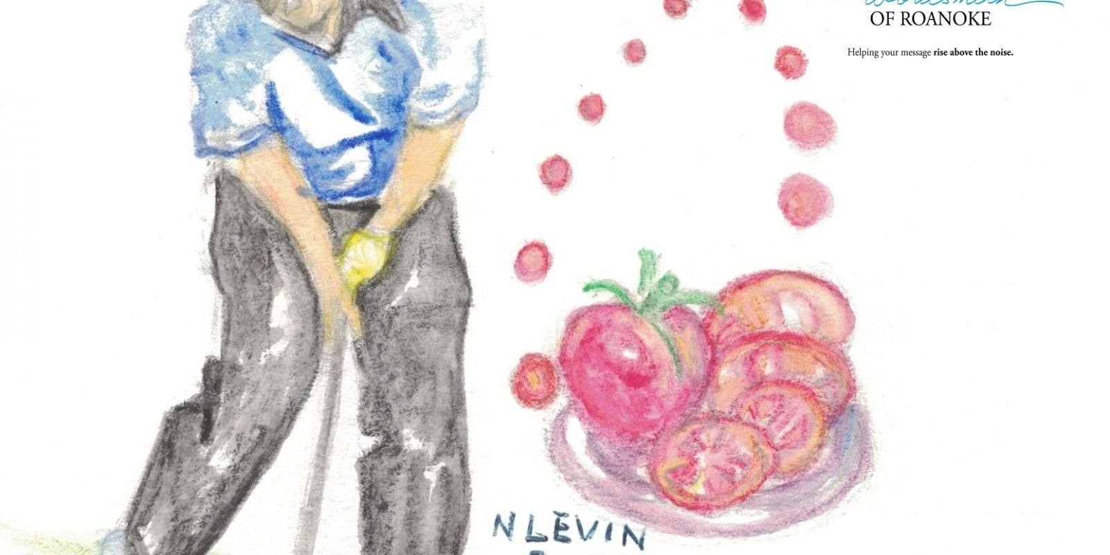 Lee Trevino often compares his golf game to sliced tomatoes in the many metaphors he uses
